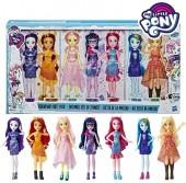 My Little Pony Set 7 Papusi Equestria Girls E1933