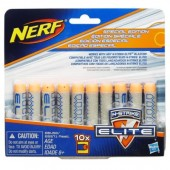 Nerf Elite 10 munitie Gri