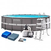 Piscina Intex Ultra Metal Frame 488 X 122 Cm 26322