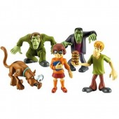 Scooby Doo set 5 figurine 269892B