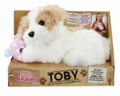 Scruffies My Best Friend Toby catel din plus cu sunete 31246