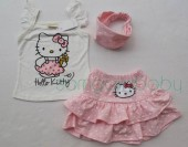 Set haine vara fete Hello Kitty cu fustita