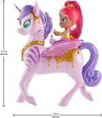 Shimmer and Shine Shimmer and Magical Flying Zahracorn GCM01