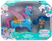 Shimmer and Shine Shine and Magical Flying Zahra Corn FVF91