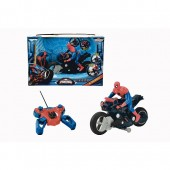 Spider Man ultimate rc motocicleta