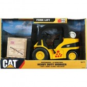 Toy State Caterpillar Heavy Duty Worker Fork Lift L&S Motorized
