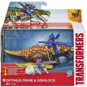 Transformers 4 Age of Extinction Dino Sparkers Optimus Prime si Grimlock A6494