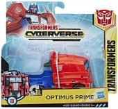 Transformers Cyberverse 1-Step Changer Optimus Prime E3526