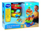 VTech Baby Pop and Roll Ball Tower 181303