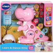 VTech Learn and Dance Dino Baby Jucarie Interactiva 518753 (limba engleza)